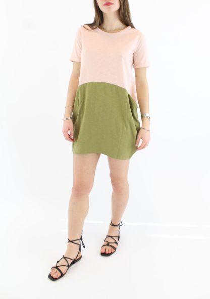 Rosa/verde